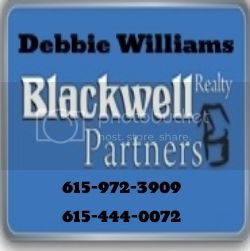 Let Debbie Williams be your realtor!