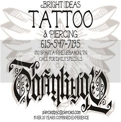 Bright Ideas Tattoo &amp; Piercing - Lebanon, TN