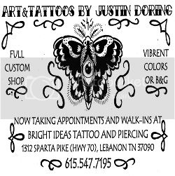 Art &amp; Tattoos by Justin Doring