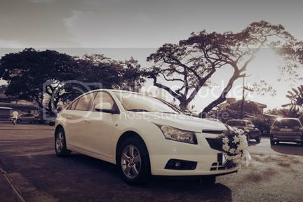 bridal car for rent cruze