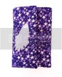 Kids Travel Art Case - Purple Stars with Spaceship