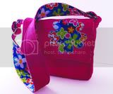 Kids &amp; Toddlers Messenger Bag - Pink Flower
